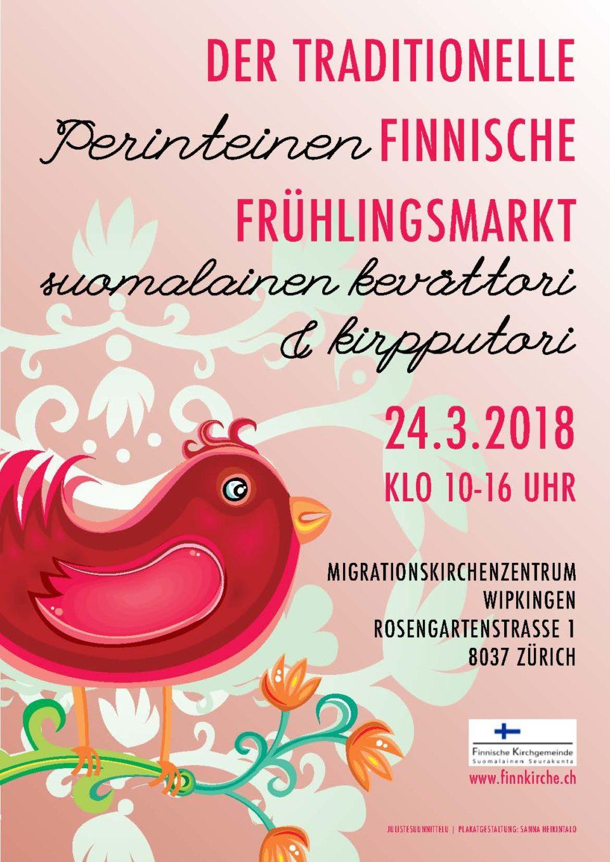 Der traditionelle finnische Frühlingsmarkt in Zürich
