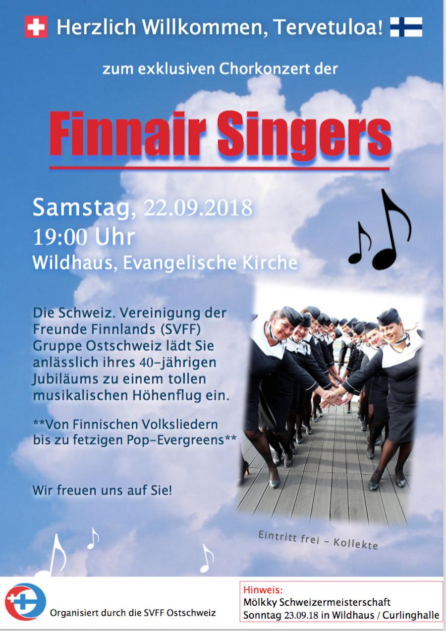Konzert der Finnair Singers