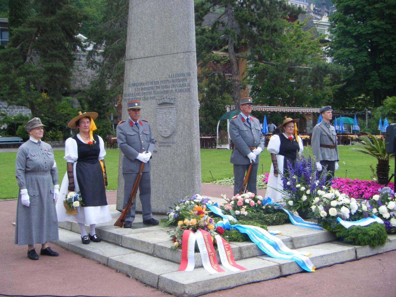 Marschall Mannerheim-Gedenkfeier