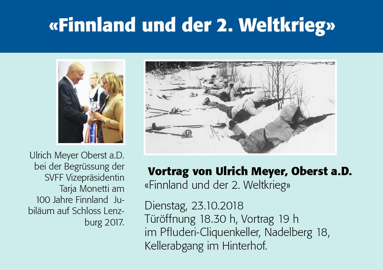 """""""Finnland und der 2. Weltkrieg"""""""