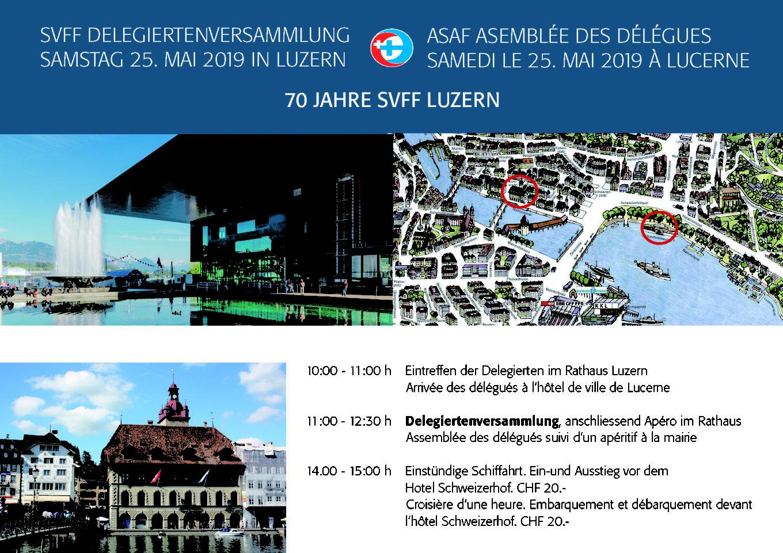 Schweizerische Delegiertenversammlung 2019