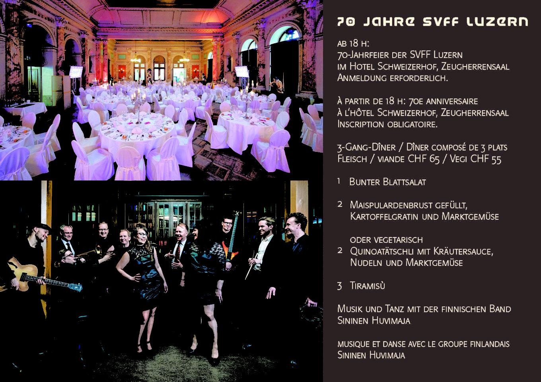 70 Jahrfeier SVFF Luzern