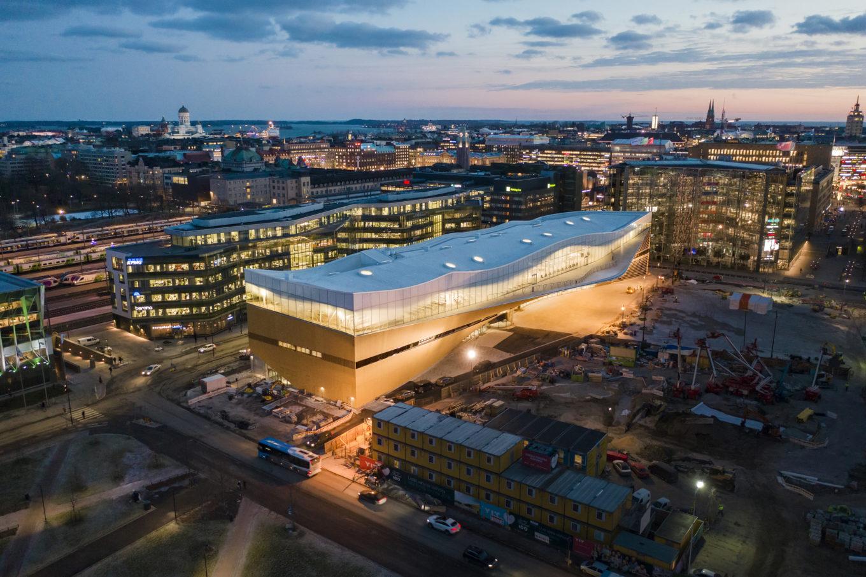 Library Science Talk : Vortrag über Helsinkis neue Stadtbibliothek Oodi