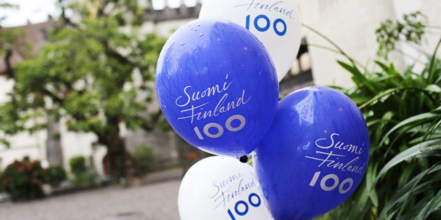 Finnland 100 Jahre Jubiläum, Suomi 100 vuotta