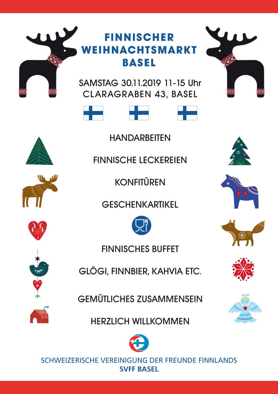 Finnischer Weihnachtsmarkt Basel