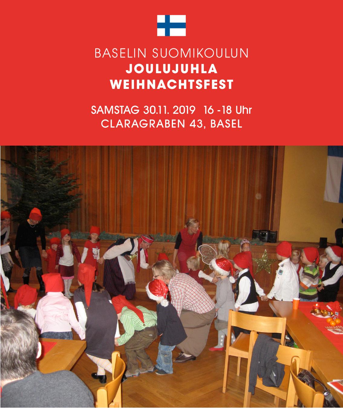 Baselin Suomikoulu Joulujuhla
