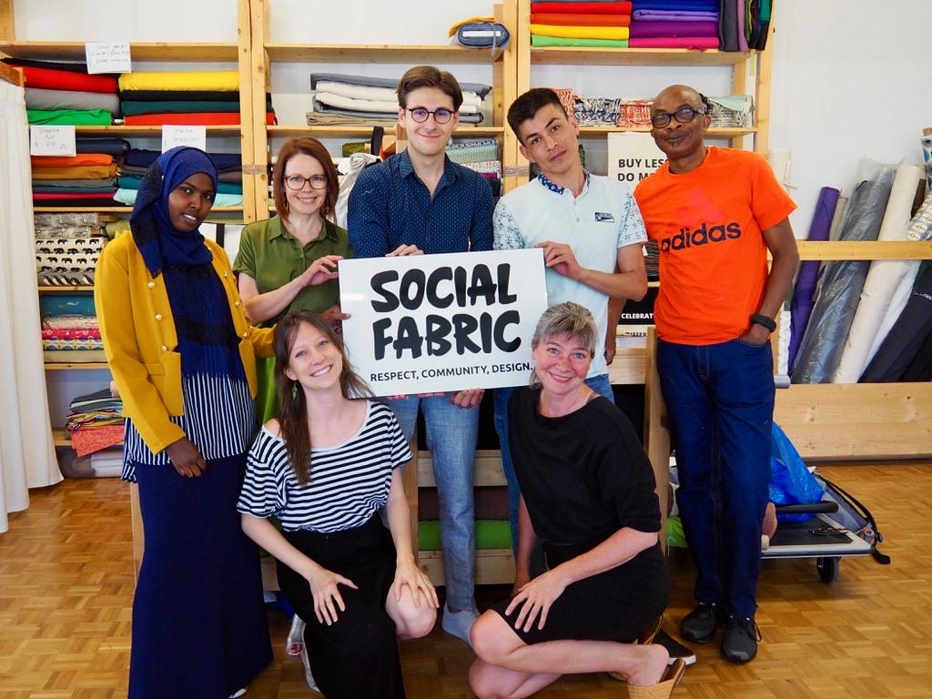 Abgesagt: Atelierbesuch Social Fabric