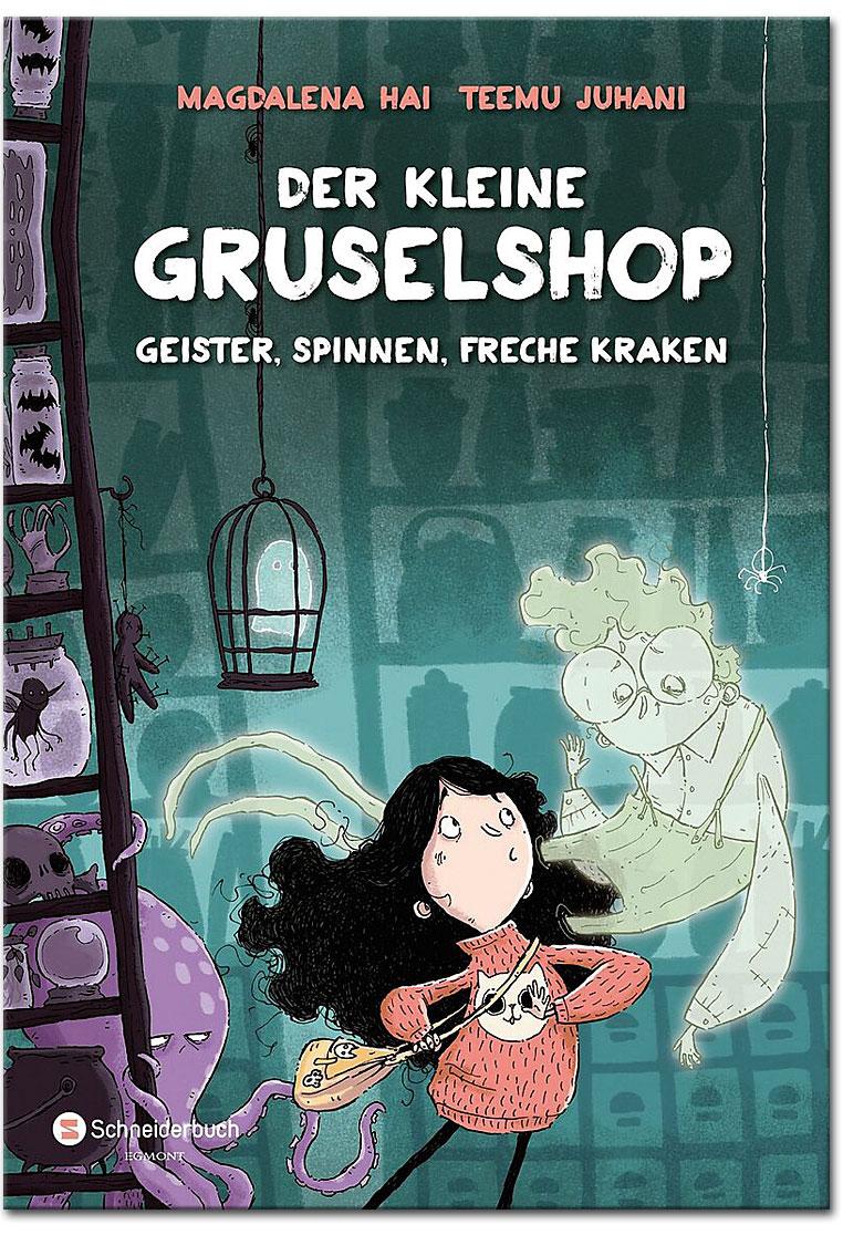 Buchcover Der kleine Gruselshop