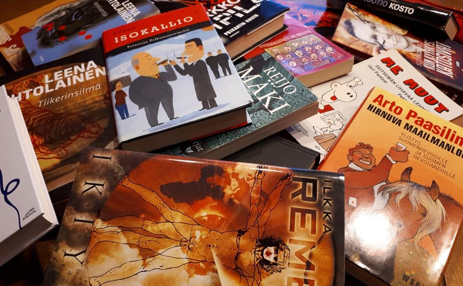 Finnische Bücherbörse / Suomalainen Kirjapörssi
